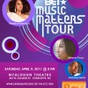 BET Music Matters Tour April 9th