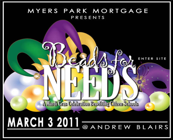 Beads for Needs March 3rd