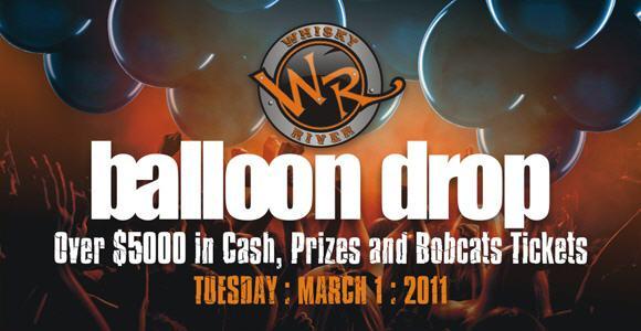 Bobcat's Balloon Drop March 1st