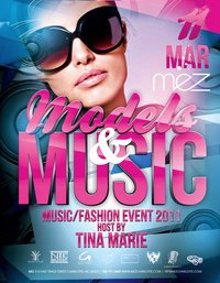 Models And Music March 11th