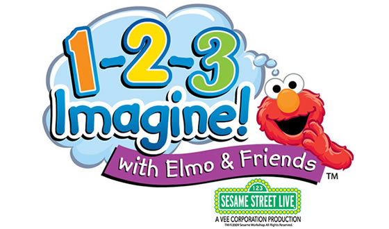 Sesame Street Live: 1-2-3 Imagine! With Elmo & Friends