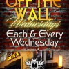 Off The Wall Wednesdays
