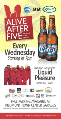 Alive After Five at Piedmont Town Center