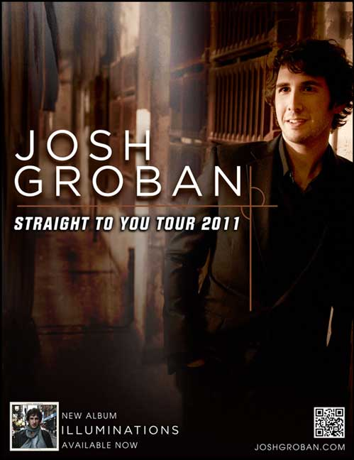 Josh Groban June 10th