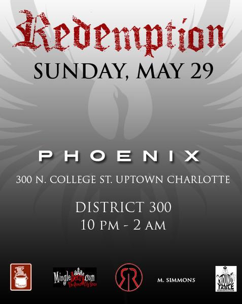 Memorial Weekend Extravaganza – Party #2: Redemption