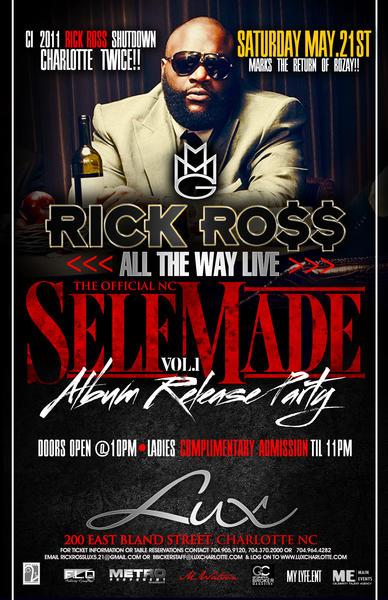Rick Ross May 21st