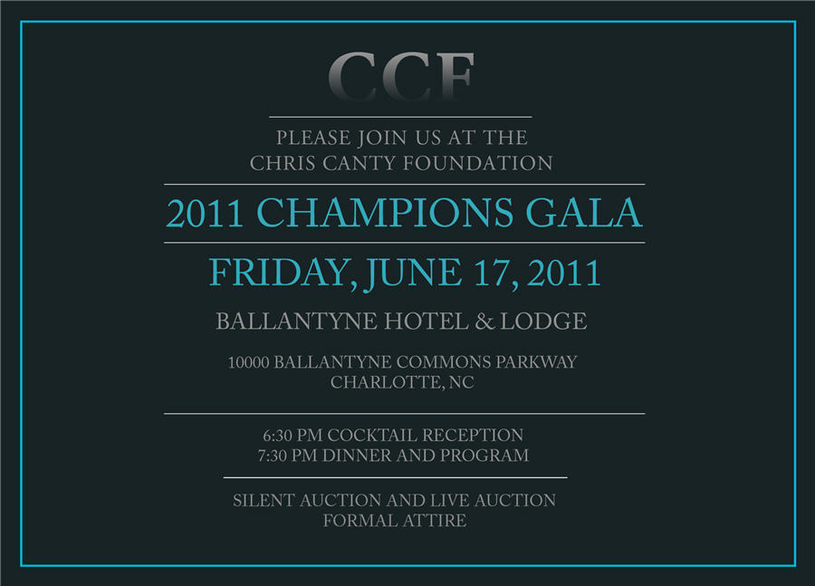 Champions Gala June 17th