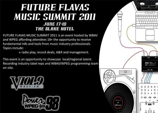 Future Flavas Music Summit June 18th