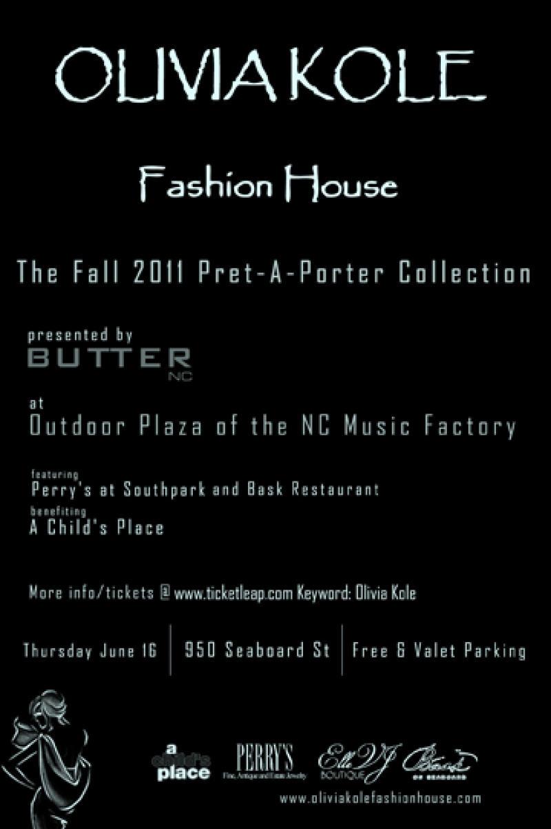 Olivia Kole Fashion House June 16th