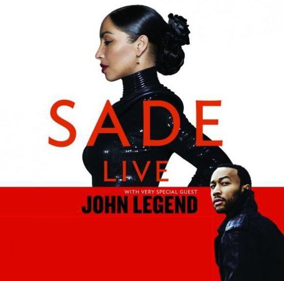 Sade W/ Guest John Legend July 31st