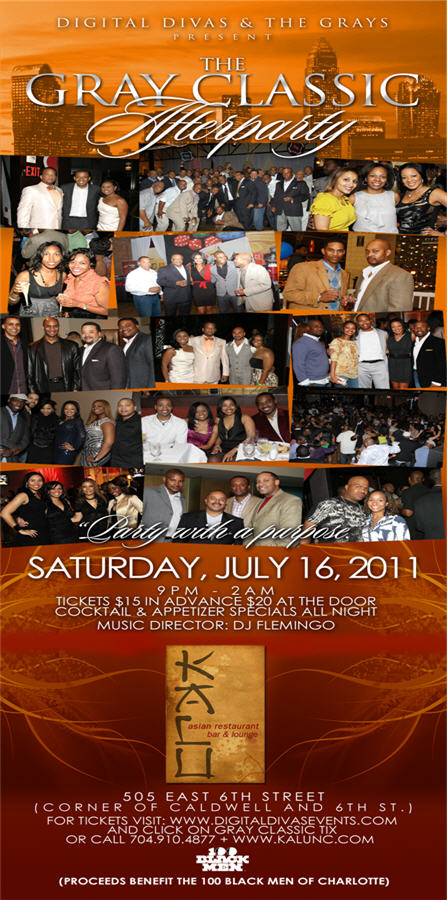 Gray Classic Afterparty July 16th