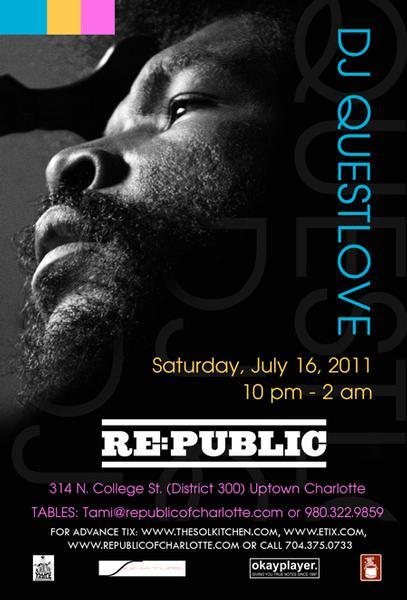 DJ QuestLove July 16th