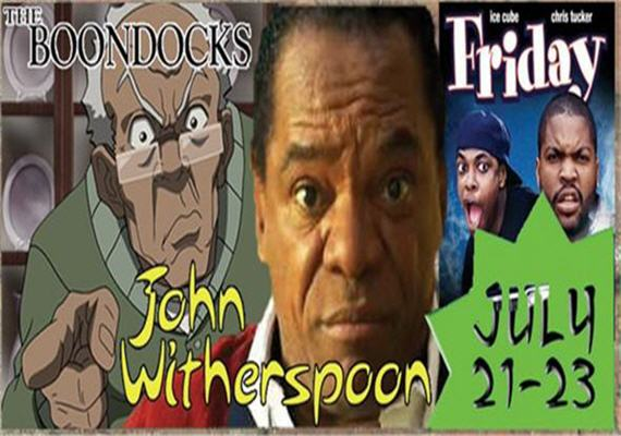 John Witherspoon @ The Comedy Zone July 21-23