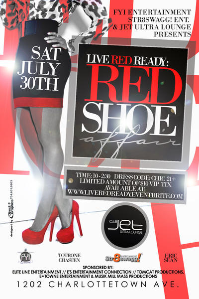 Live Red Ready Red Shoe Affair