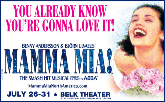 Mamma Mia July 26th-31st