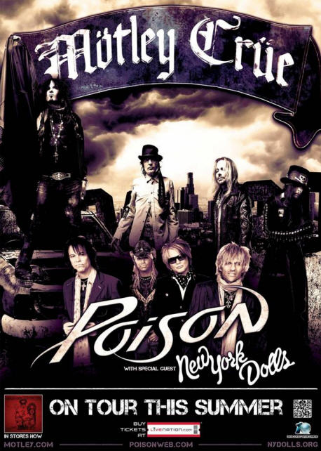 Motley Crue and Poison July 12th