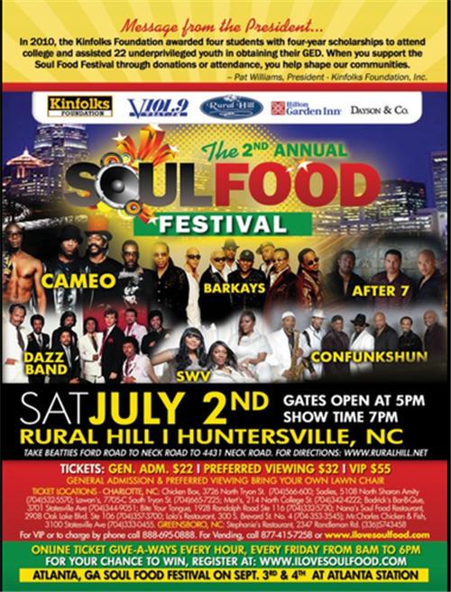 2011 Soul Food Festival July 2nd