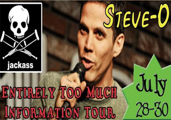 Steve O at The Comedy Zone July 28-30