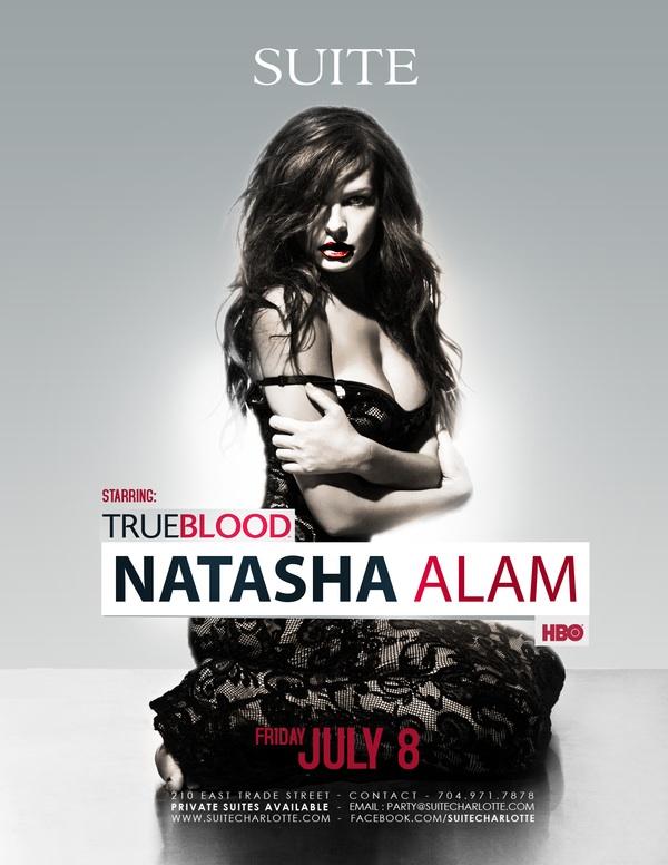True Blood's Natasha Alam July 8th