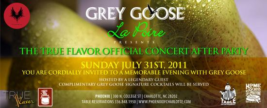 True Flavor Official Concert Afterparty July 31st