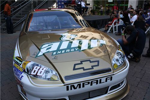Dale Earnhardt Jr. Unveils New Car
