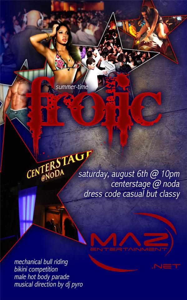 "MAZ Entertainment Presents ""FROLIC"" Part II"