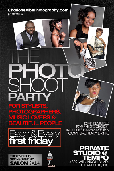The Photo Shoot Party Aug 5th