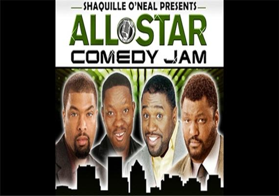 shaquille oneal all star comedy jam 2010