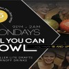 All You Can Bowl Mondays @ StrikeCity