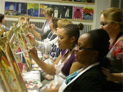 Painting with a twist bogo anniversary special for Painting with a twist charlotte nc
