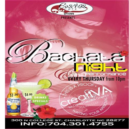 Bachata Thursdays at Cosmos