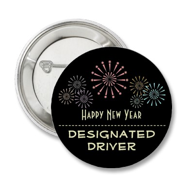Designated Drivers Encouraged on New Year's Eve