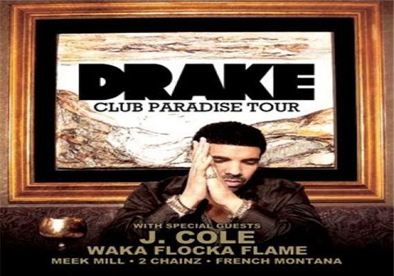 Club Paradise Drake Tour