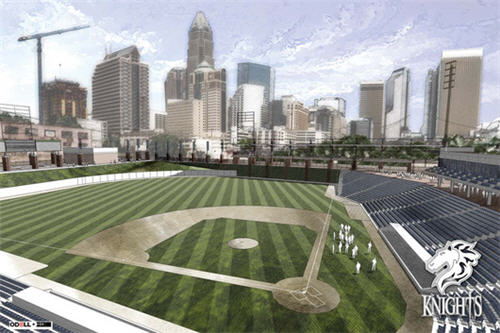 Charlotte Knights Want $11 Million From City For New Baseball Stadium