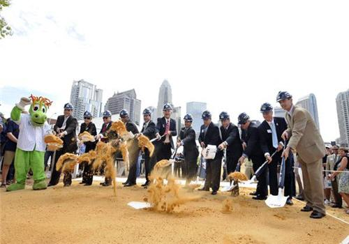 Charlotte Knights Break Ground On New Stadium
