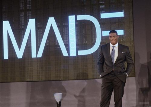 "Cam Newton Launches ""MADE"" Clothing Line"