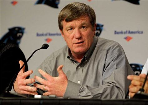 Carolina Panthers Fire GM Marty Hurney