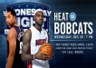Bobcats vs Heat Dec 26 2012