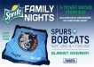 Bobcats vs Spurs Dec 8 2012