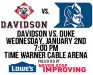 Davidson Vs Duke Jan 2 2013