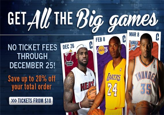 Bobcats Get Tickets To All The Big Games 2012-13