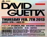 David Guetta Label Charlotte Feb 7 2013 570x450