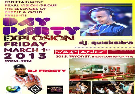 Day Party Explosion Feat Bad Boy Ent & Ciroc Boyz Party Kingpin DJ QuickSilva & DJ Frosty – March 1st
