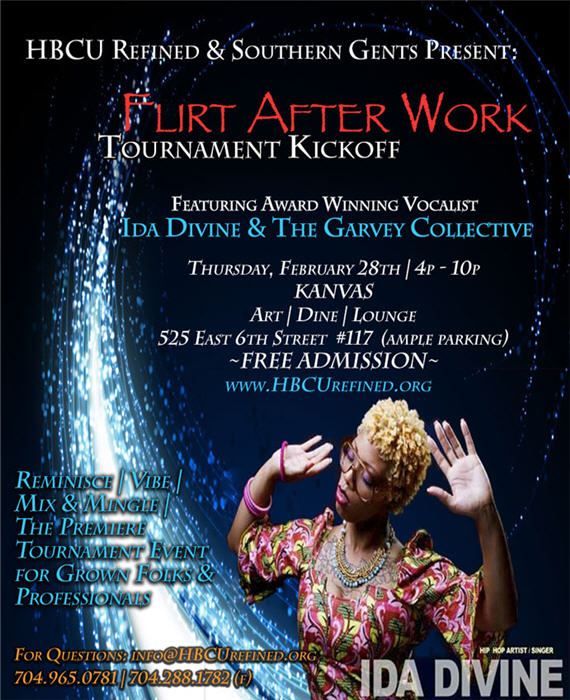 """Flirt After Work"" Tournament Kickoff ! Feb 28th"
