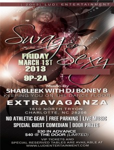 Swag & Sexy CI Week Friday 2013