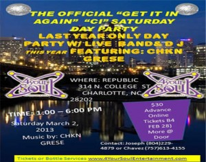 The Official Get It In Saturday Day Party 2013
