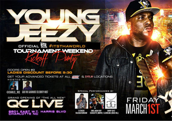 Young Jeezy 2013 Tournament Weekend Featured