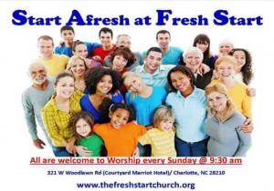 Fresh Start Church Charlotte