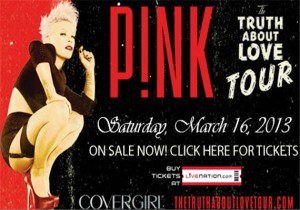 Pink Truth About Love Tour Charlotte