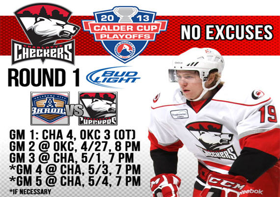 2013 Charlotte Checkers Playoffs Round 1